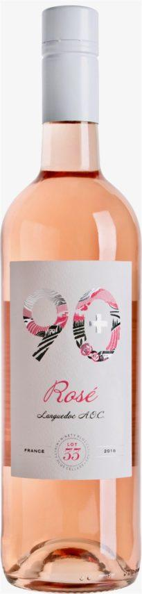 90+ Cellars Languedoc Rose' Lot 33 bottle
