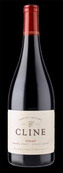 Cline Estate Sonoma Coast Syrah 2017