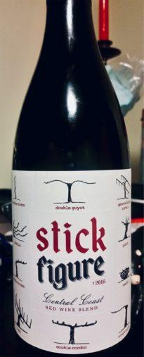 Stick Figure Red Blend 2016